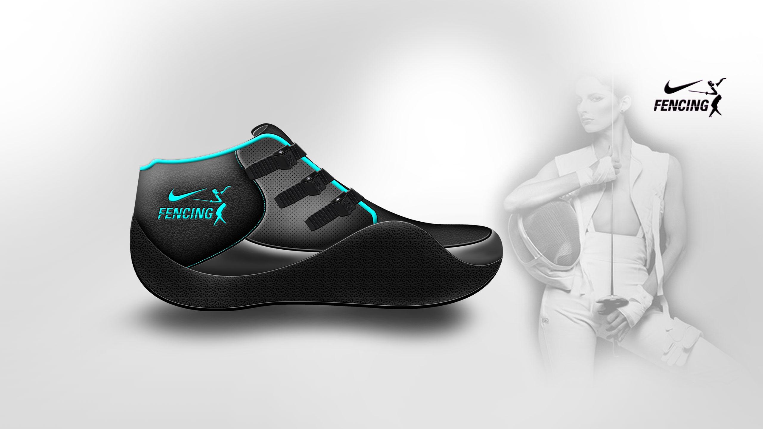 Fencing Shoes – Stylish | Merve Karamete – Industrial Product Designs Portfolio